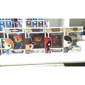 Funko Pop Glenn Twd, Freddy Krueger, Chucky, Deadpool.