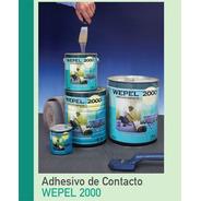 Adhesivo Doble Contacto Wepel 2000 Lata 750gr / 1 Litro