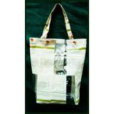 Bolsa (plástico Reciclado) Eco Modelo 50 X 50 Decoartesano