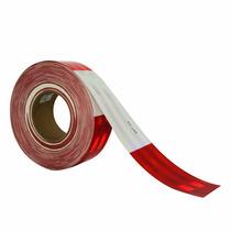 Cinta Reflejante Barricada 3m Rojo/blanco 2 Pulg 7x11 983-32