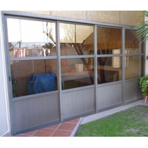 Puerta De Aluminio Corrediza 4 Hojas