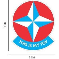 Adesivo This Is My Toy Estrela Jdm Fixa Euro Dub Rebaixado.
