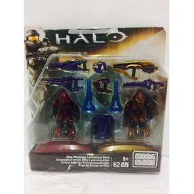 Halo Pack Armas Elite 62 Pcs Megabloks Cnc94 23gt