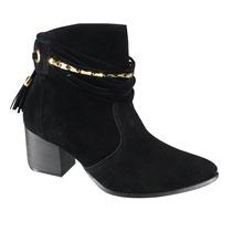 Bota Ankle Boot Via Marte 16-6511   Katy Calçados