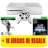 Xbox One 500 Gb Quantum Break Y 10 Juegos De Regalo