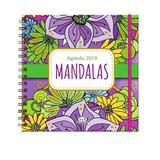 Agenda Mandalas 2018 - Violeta