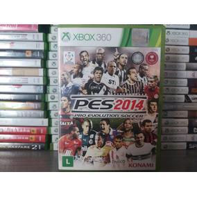 Jogo Pes 2014 Original Xbox 360 Mídia Física