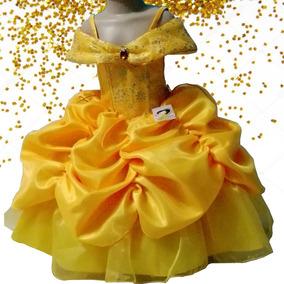 Vestido De Princesa Bella Y Bestia Tallas 3, 4 Y 6