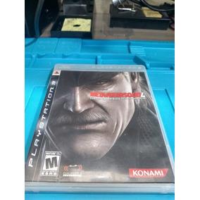 Jogo Metal Gear Solid 4 Guns Of The Patriots Ps3 Seminovo