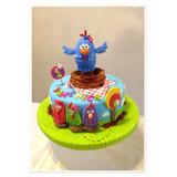 Torta La Gallina Pintadita Cupcakes Y Cake Pops