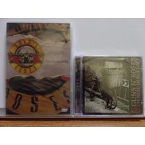 Dvd + Cd Guns N Roses Chicago E Chinese Democracy Lacrados