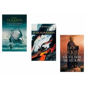 Kit Com 3 Livros Do Autor J. R. R. Tolkien