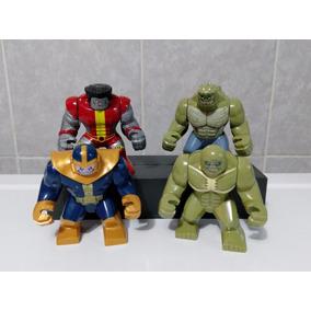 Figuras Compatibles Lego Hulk, La Mole, Hulkbuster, Venom