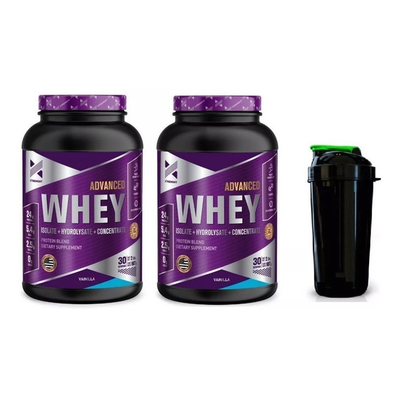 Xtrenght Advanced Whey Protein 4 Lbs - Concentrada + Isolada