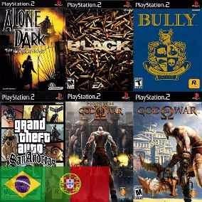 10 Jogos Patch Playstation 2 Ps2 A Sua Escolha Promoção