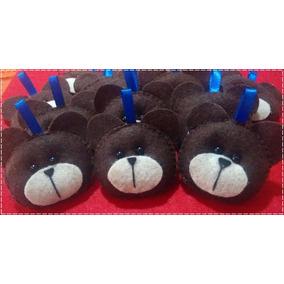 Kit 20 Chaveiros Urso Feltro