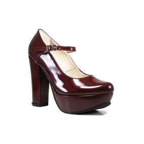 Zapatos Mujer Zapatos De Fiesta Comodos Taco Palo Novias 15