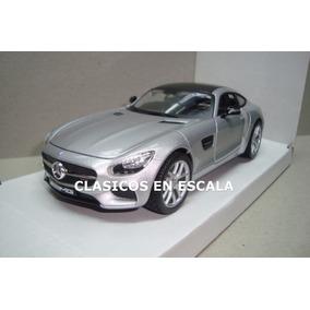 Mercedes Benz Gt Amg - Superauto Aleman - Maisto 1/24