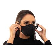 Kit 2 Máscaras Tripla Proteção Reutilizáveis Hipoalergênica