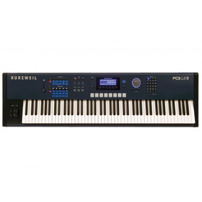 Teclado Workstation 88 Teclas Kurzweil - Pc 3le8lcs Bl