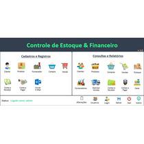 Planilha Controle De Estoque E Financeiro Excel