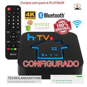 Tablet Box Htvi Versao 5 H Tv Configurado Suporte Pós Venda