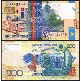 Cédula Cazaquistão - 200 Tenge 2006 Fe