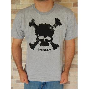 Camiseta Masculino Camisa Oakley Caveira Skull Promoção!! 2 cores. R  39 fea40a6880b