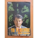 Partitura Ya Te Olvide - Armando Manzanero