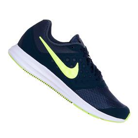 41d44fde9 Tênis Nike Downshifter 7 Corrida Marinho E Verde Original