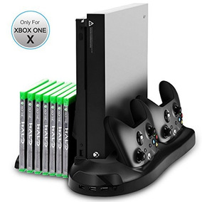 Xbox One X Stand, Sotical Veamor Xbox One X Vertical Stand C