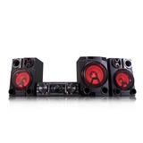 Minicomponente 2.1 Lg 31500w Bluetooth Usb Dj Cd Led Karaoke