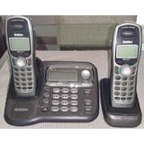 Telefono Inalambrico Doble Uniden Perfecto Estado