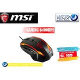 Mouse Gamer Msi Serie G | Usb S12-0400c40-aa3 | 6400dpi