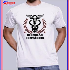 Camiseta Camisa Personalizada Curso Ciencias Contabeis Facul