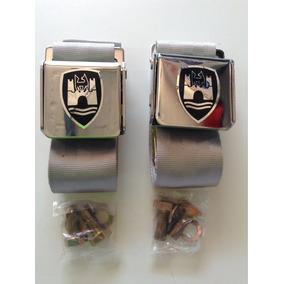 Cinturones De Seguridad M/v Para Vocho Color Gris 1954-1974