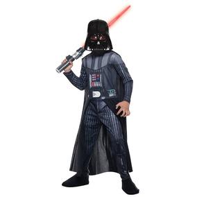 Disfraz Niño Star Wars Darth Vader Gde 142 A 152cm