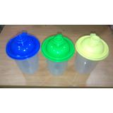 Vaso Con Tapa Cooler Cotillon Colores Surtidos Mayor Y Detal