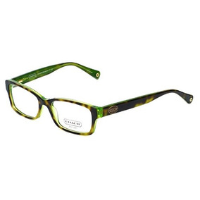 Lentes Coach Hc Tortoise Green 52mm
