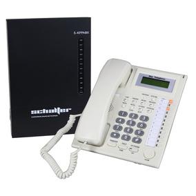Conmutador Telefonico 3 Lineas 8 Ext Y Telefono Secretarial