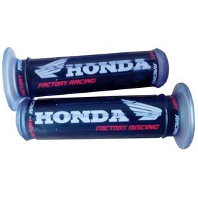 Manopla Silicone Honda Preta Par Klarion Serjão Moto Peças