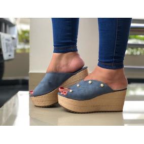 Zapatos Zuecos Hombre - Ropa y Accesorios Azul acero en Mercado ... 3a9a4ad603f