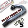 Salida Escape Honda Xr 250 Tornado Spr Evo 5 Curva Sola Caño