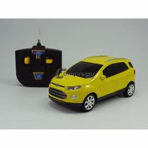 Ford Ecosport Amarelo Controle Remoto 1:24 - Cks