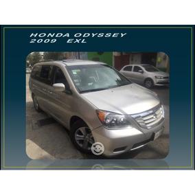 Honda Odyssey Exl 2009 Gran Oportunidad