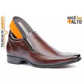 Sapato Masculino Rafarillo Alth 3225 Couro 7 Cm Mais Alto