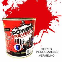 Power Revest !envelopamento Liquido Vermelho Pérola Lata 1/4