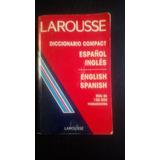 Larousse Diccionario Compact Español Inglés