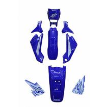 Kit De Carenagem Adesivado - Yamaha Xt 225 Azul 2000