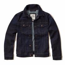 Jaqueta Jeans Hollister Masculina - 100% Original - Xl/gg